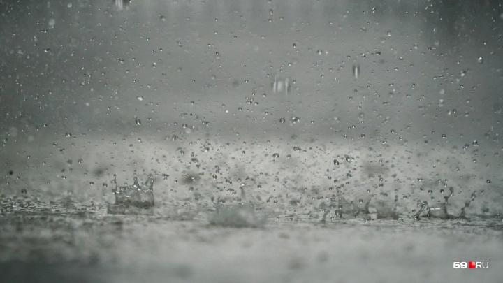 В Прикамье из-за сильных дождей ввели режим ЧС в семи муниципалитетах