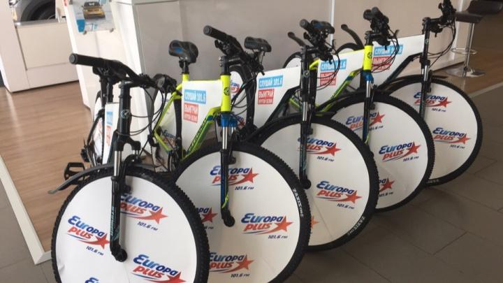 В Челябинске на Европе Плюс похищены уже пять велосипедов