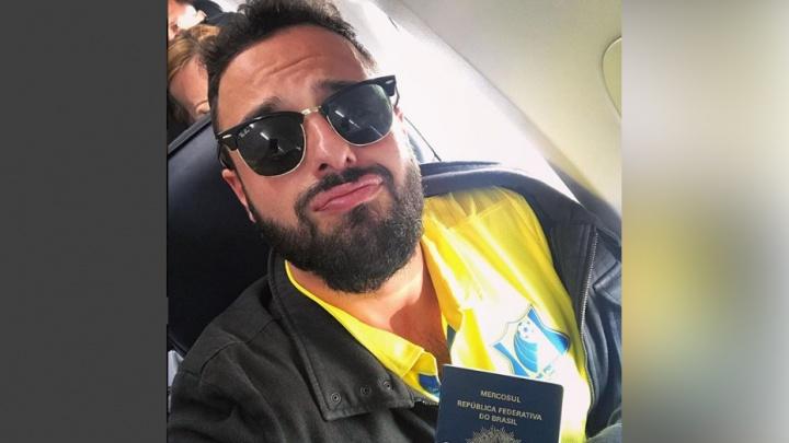 Самый популярный бразильский болельщик Томер Савойя снова летит в Ростов