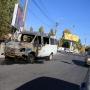В Самаре тушили «Газель»: появилось видео горящего микроавтобуса