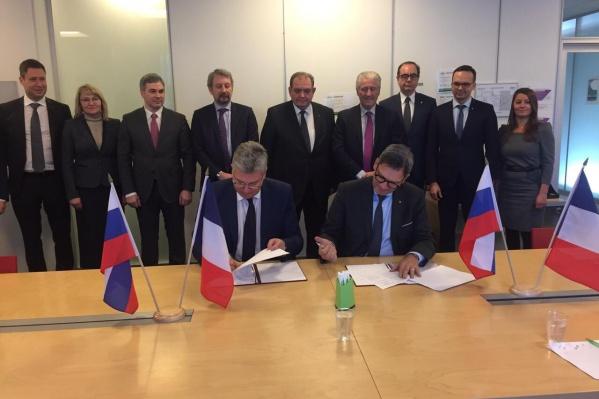 Представители бизнеса и чиновники подписали соглашение