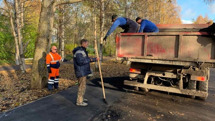 «Им явно не успеть»: власти Архангельска сообщили об окончании работ в Майском парке к 15 октября