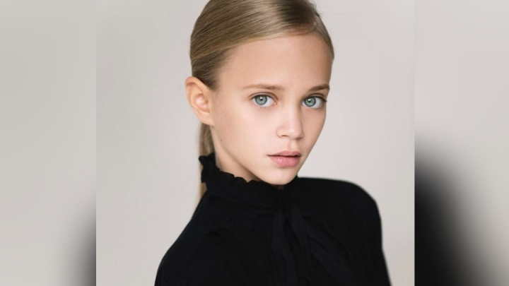 Школьница из Красноярска вошла в список самых красивых детей мира