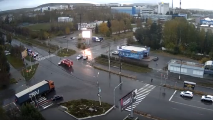 В Челябинской области произошло смертельное ДТП с участием пожарной машины
