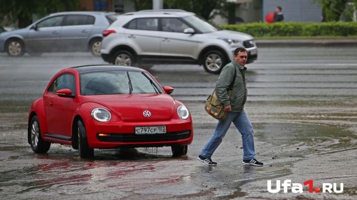 Град и грозы: в Башкирии испортится погода