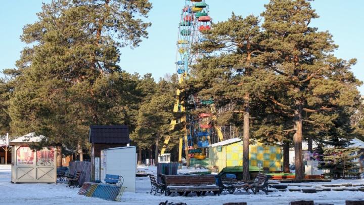 В главный парк Челябинска вернут аттракционы. Власти решают, кто займётся площадкой