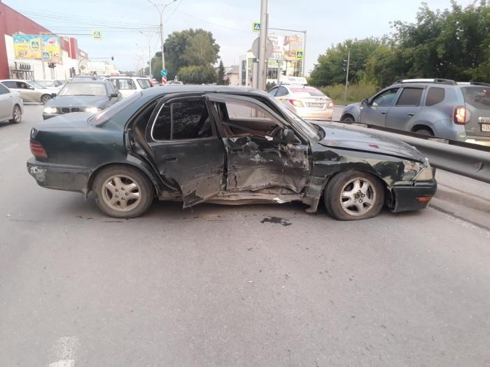 В ДТП травмы получил водительToyota Camry