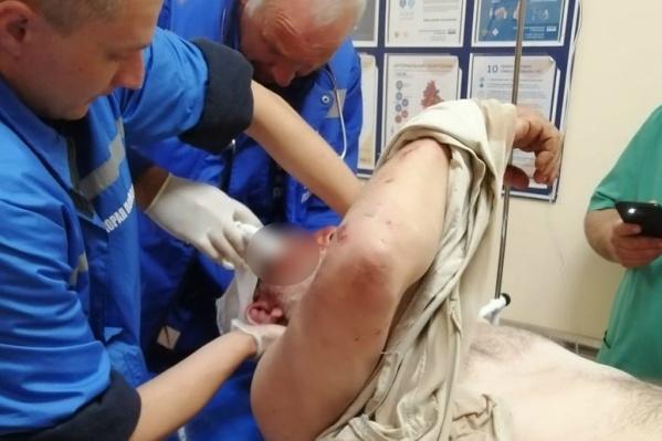 Евгений Сычёв в стабильно тяжёлом состоянии находится в реанимационном отделении 25-й больницы<br><br>