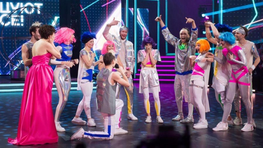 Красноярский танцор сделал предложение возлюбленной нашоу «Танцуют все!»