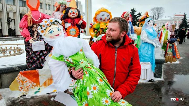 Блинтвейн и футбол вместо выпивки: как ярославцы будут гулять на Масленицу целую неделю