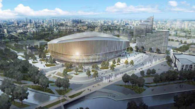 Один из вариантов ледовой арены на 15 тысяч зрителей для ХК «Автомобилист»