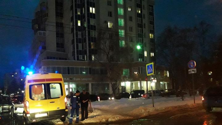 В Архангельске сбили человека на пешеходном переходе