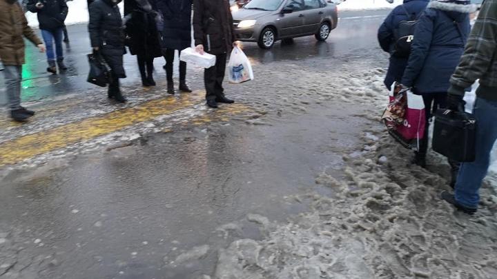 «Ходим, как святые, по воде»: колонка ярославца, измученного плохой уборкой города
