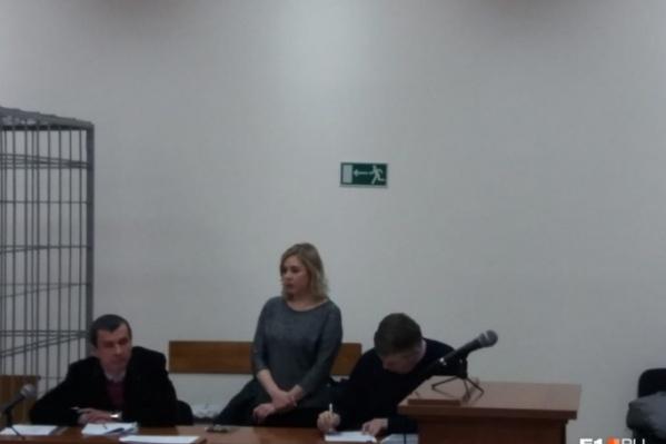 Марина Мартемьянова в суде