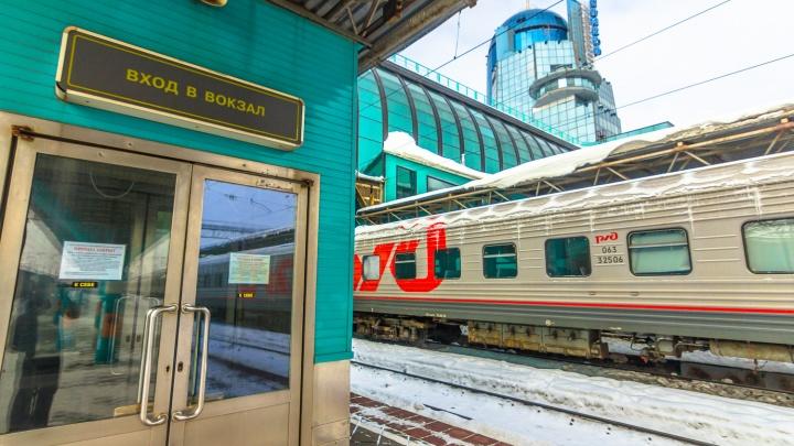 Билеты на новогодние поезда из Самары решили продавать за полцены