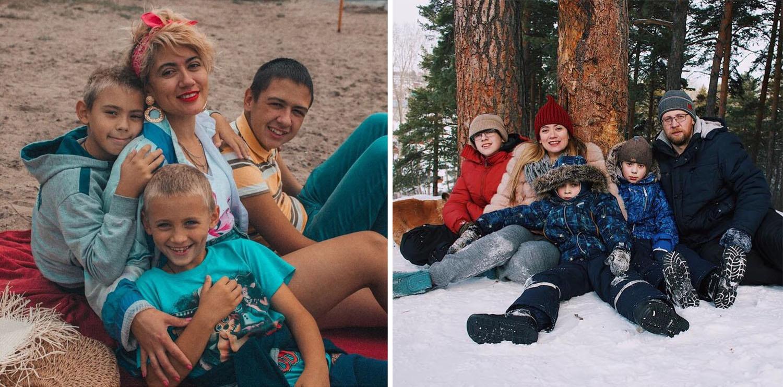 У Фоминых большая и очень дружная семья. Сейчас родители и младшие братья — главная надежда Серёжи на нормальное будущее