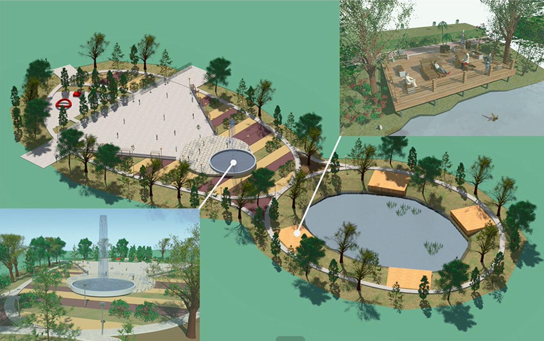 В 10-м квартале появятся фонтан и терраса для отдыха на берегу