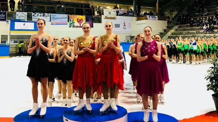 Синхронистки на коньках из Екатеринбурга выиграли Кубок Франции