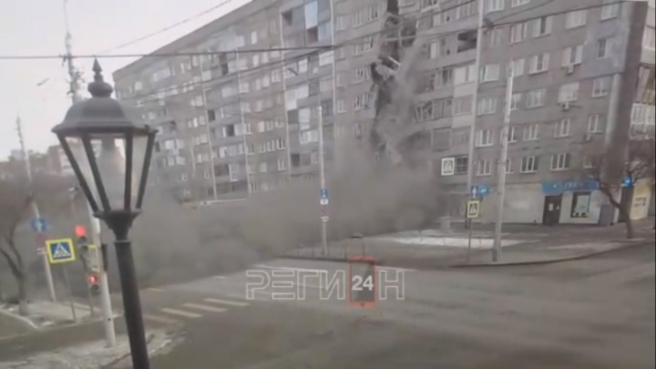 «Почти поверил»: умелец смонтировал удар метеорита по 9-этажке в центре Красноярска