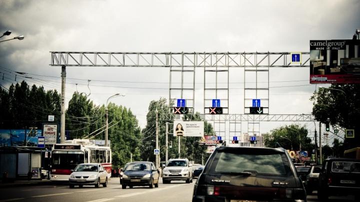Трафик на трех магистралях Самары регулирует интеллектуальная система