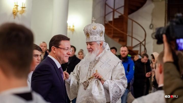 «Воссияй, свет разума!»: главная рождественская литургия прошла в Софийском соборе