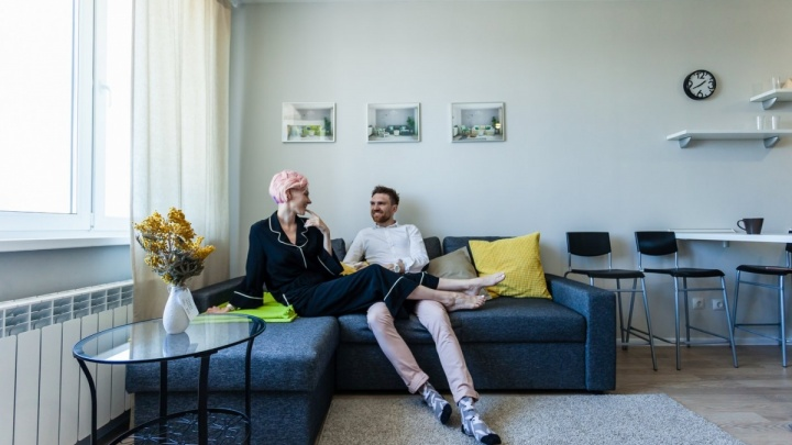 В Екатеринбурге на продажу выставили «лавандовую» квартиру