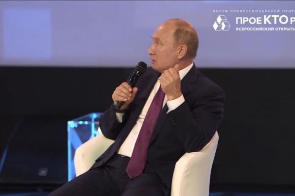 Владимир Путин признался, что больше всего его интересуют генетика и искусственный интеллект