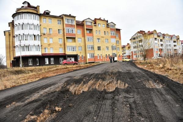 Временные дороги в Брагино зимой не собираются чистить до асфальта