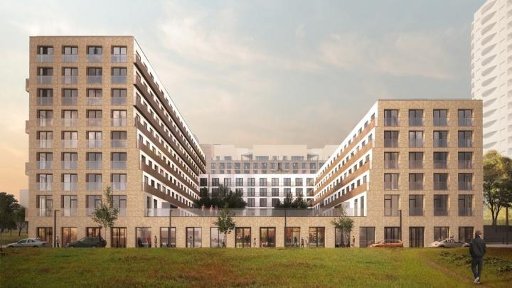 Архитекторы из Нидерландов спроектировали дом с бассейном около «Октябрьской»