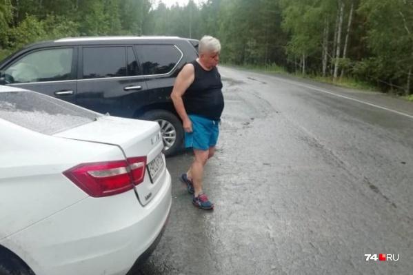 ДТП с участием Андрея Косилова произошло днём в воскресенье на загородной дороге в Аргаяшском районе