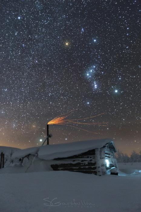 Это фото было сделано за Главным Уральским хребтом на Северном Урале