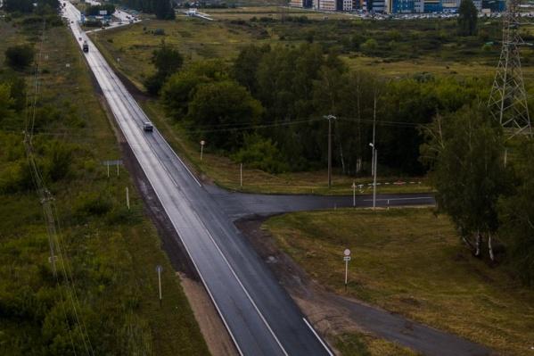 На дороге после реконструкции появятся две новые транспортные развязки