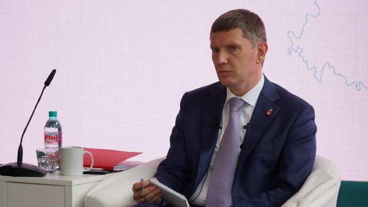 «Мне тоже обидно»: губернатор Прикамья прокомментировал уход Курентзиса