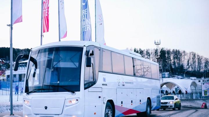 Запущены 14 перехватывающих парковок с бесплатными автобусами по городу