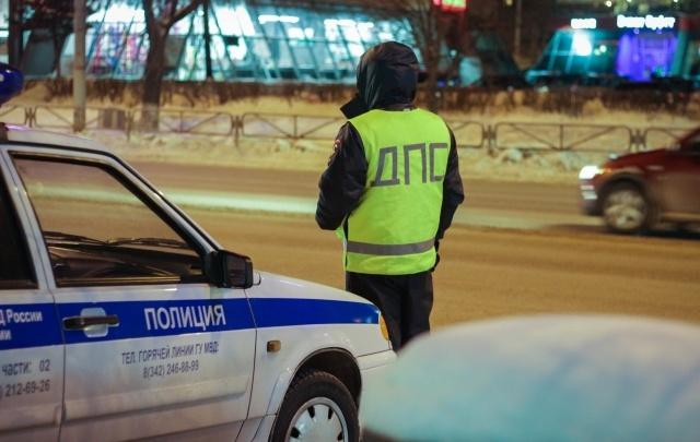 В Перми внедорожник сбил на дороге лошадь: пострадала девушка