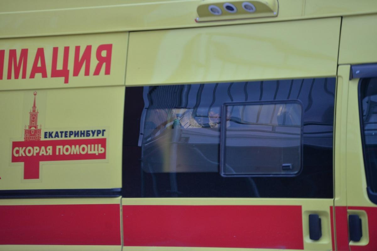 Скорая увезла пострадавшего прямо с фан-зоны
