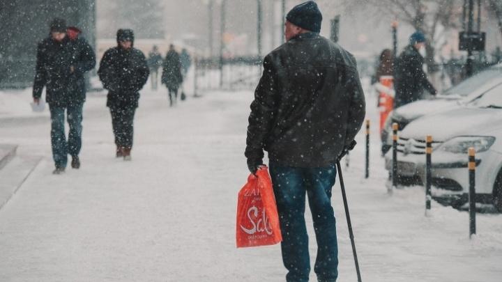 Тюмень завалит снегом к Новому году. Погода на три дня