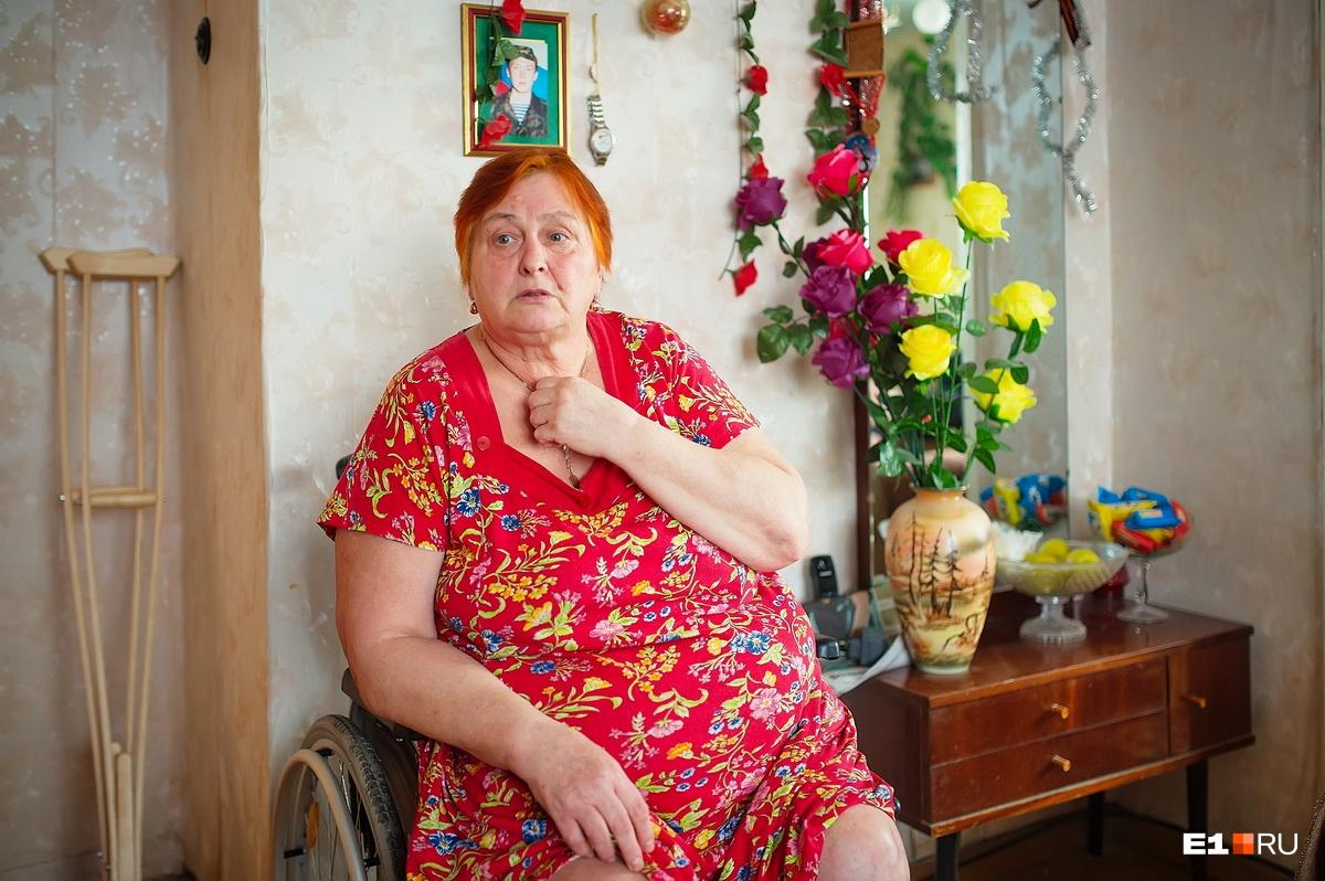 Людмила Александровна два дня искала помощников, чтобы вынести мужа из больницы
