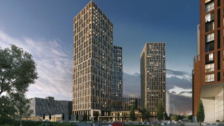 Возле ЦПКиО построят огромный квартал с жилыми небоскребами и семейными планировками