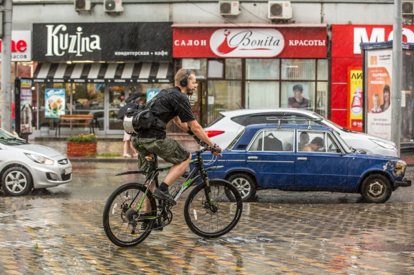 В конце недели в Новосибирске ожидаются небольшие дожди — прекратятся они в воскресенье