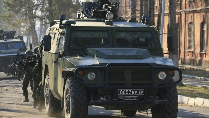 В спецназе Центрального военного округа появились «Тигры»