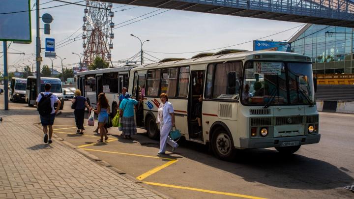 На Большевистской передвинут три автобусных остановки