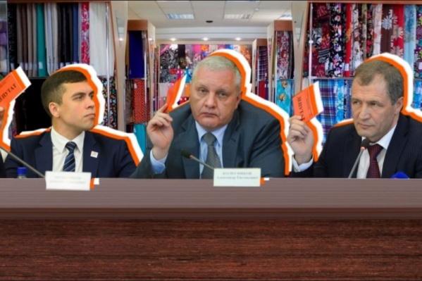 Депутаты пока всячески противятся переезду в торговый центр