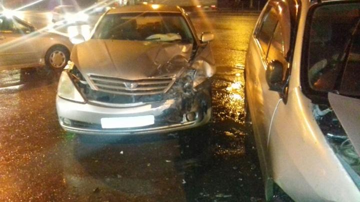 В ДТП на Гусинобродском шоссе пострадал ребёнок