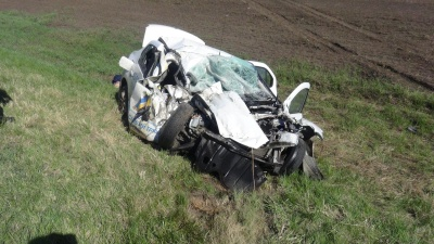 На трассе «Иртыш» легковушка врезалась в КАМАЗ: два человека погибли