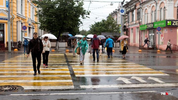 Придёт холодный атмосферный фронт: вместе с резким похолоданием на Ярославль обрушатся ливни и грозы