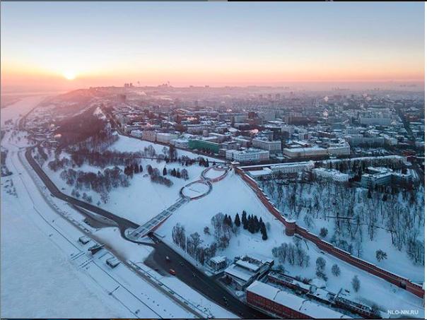 Фотографии Никиты доказывают, что нижегородские виды хвалят не зря