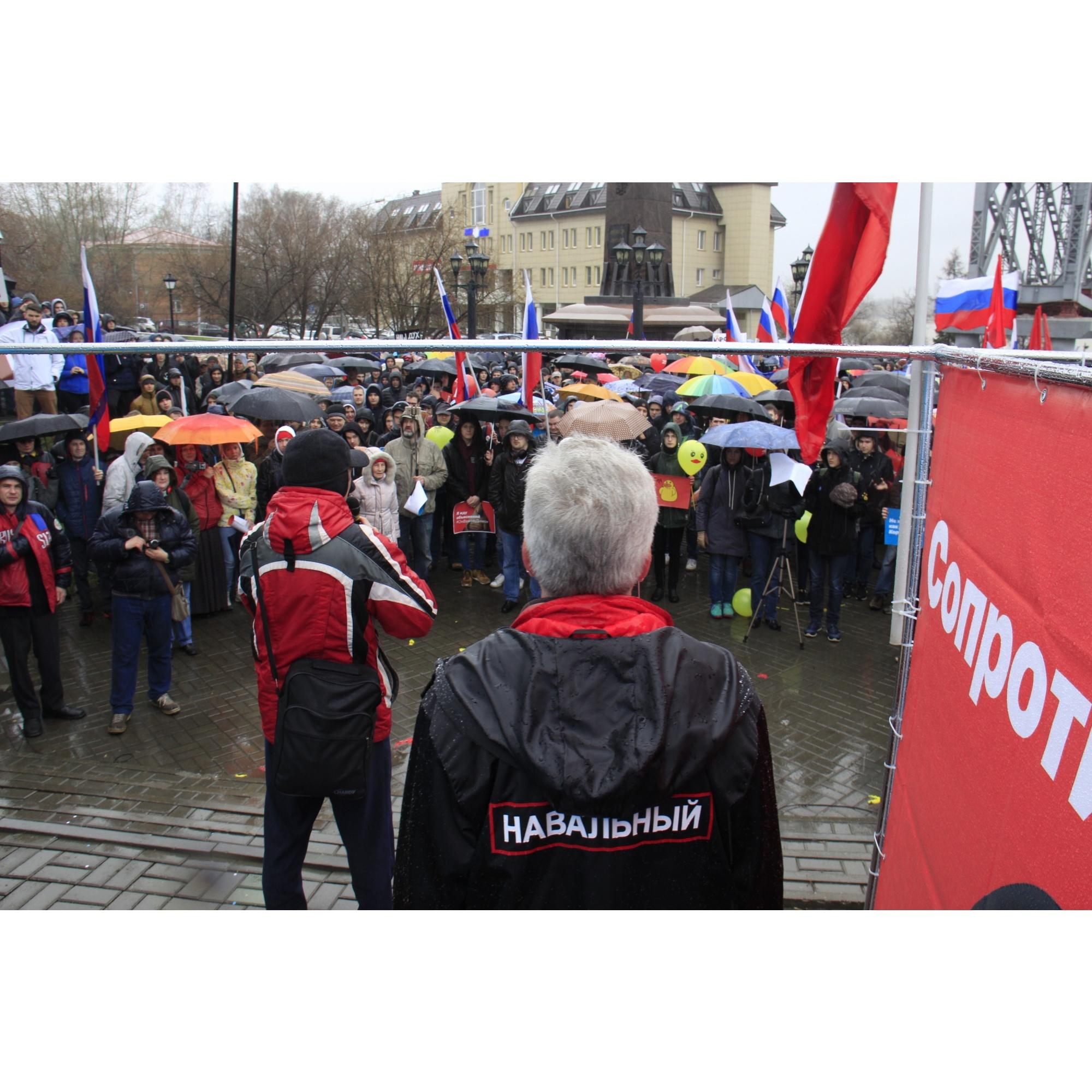 Организатор митинга Андрей Гладченко рассказал о том, как ему удалось перехитрить мэрию