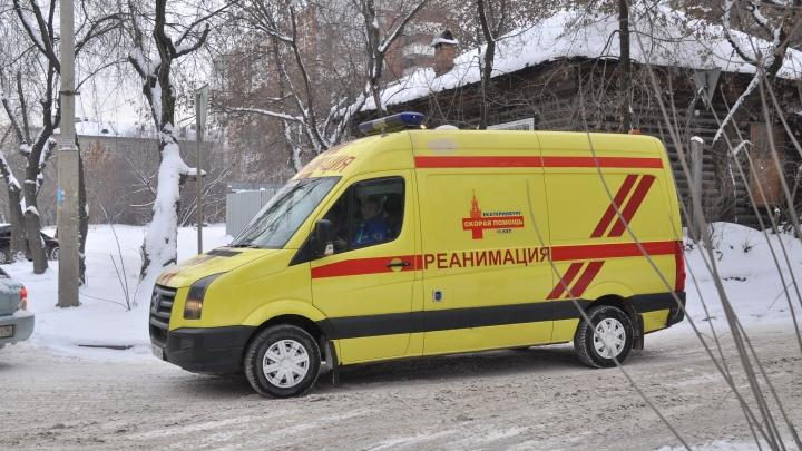 Под Екатеринбургом насмерть замерз мужчина, возвращавшийся из гостей