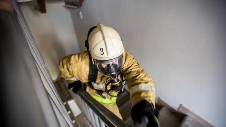 Неосторожная курильщица погибла в пожаре на Затулинке